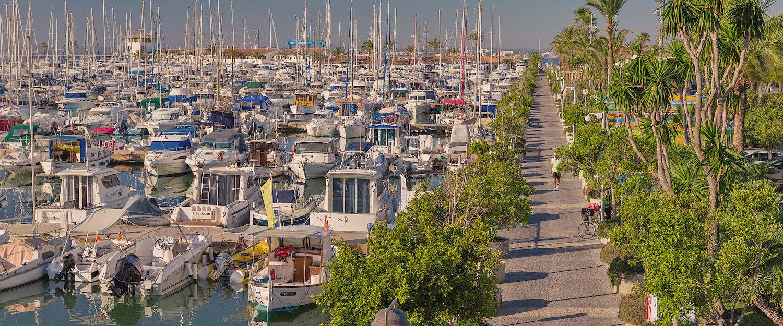 Der Hafen von Port d'Alcúdia.