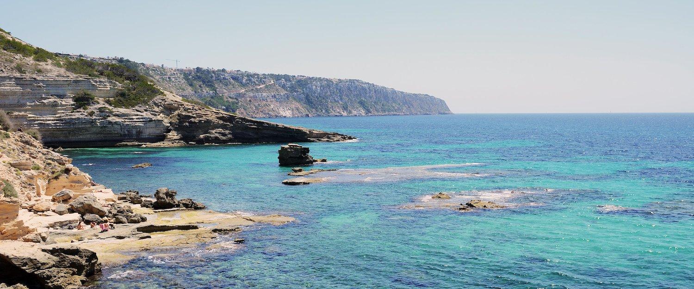 Die Küste von Camp de Mar