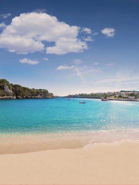 Blick auf die Bucht von Camp de Mar