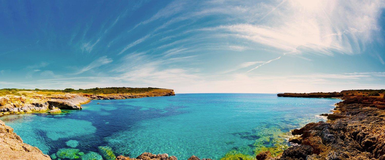 Türkise Bucht auf Mallorca