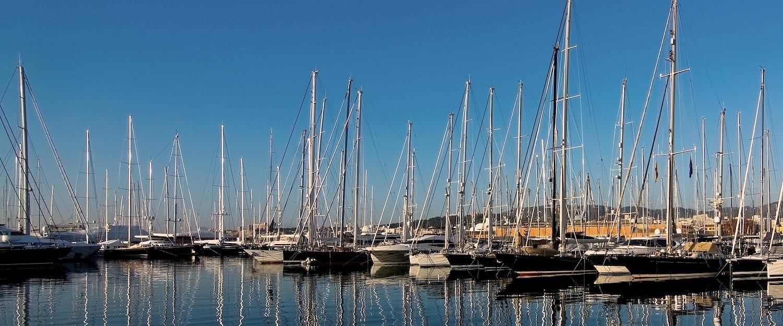 Der Hafen von Can Pastilla.