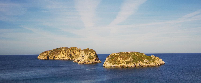 Islas cerca de Santa Ponsa
