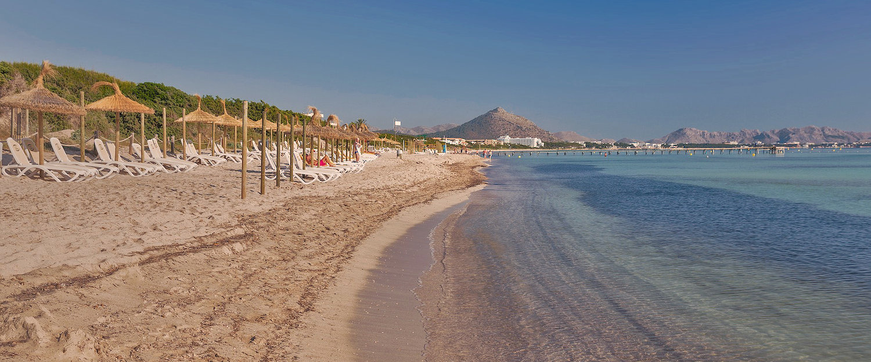 La interminable playa de Playa de Muro