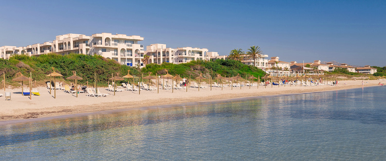 La Playa en Playa de Muro