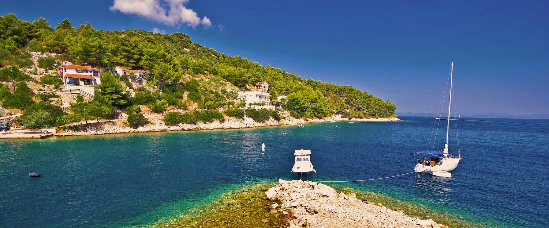 La costa en las Isla Dugi