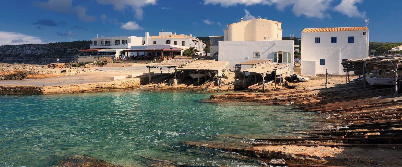 Die Bucht von Formentera