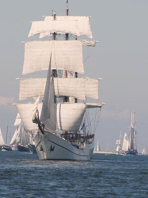 Großes Segel-Spektakel während der Kieler Woche