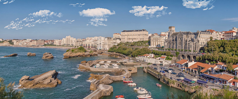 Hafen von Biarritz