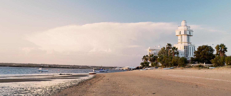 El faro de Isla Cristina