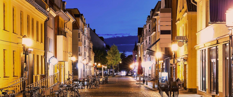 Abendliche Stimmung in Greifswald