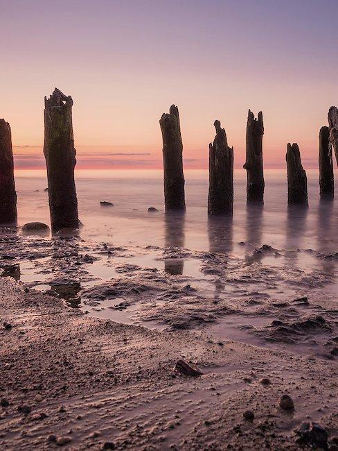 Der Strand von Kühlungsborn.