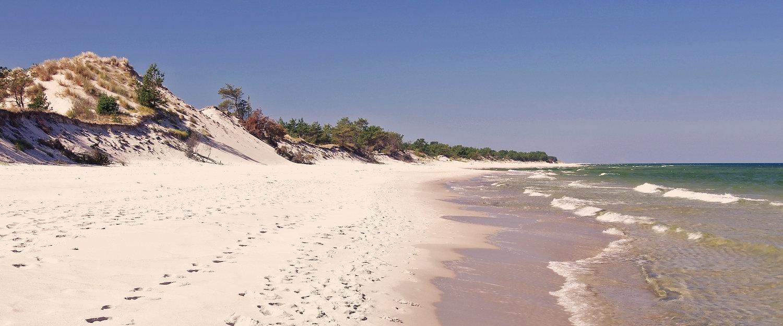 W Pobierowie znajdziemy piękne, piaszczyste plaże