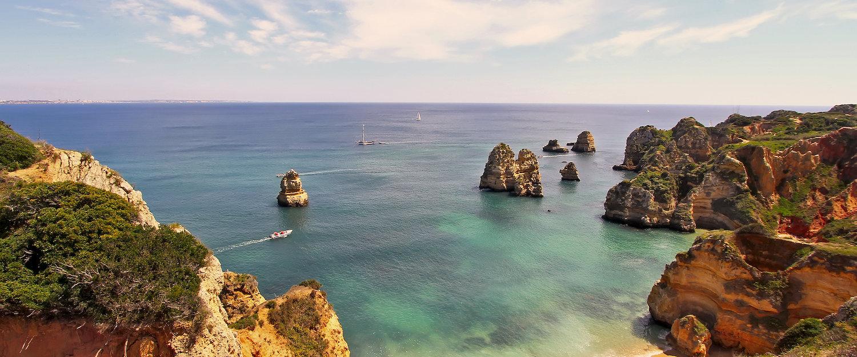 Praia na Região de Vilamoura