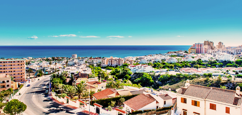 Widok na miasto Torrevieja