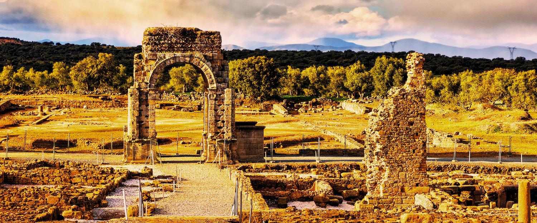 La ciudad romana de Cáparra en Alagón