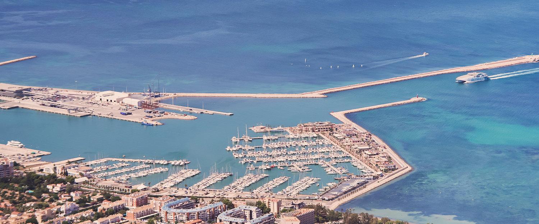 El puerto de Dénia