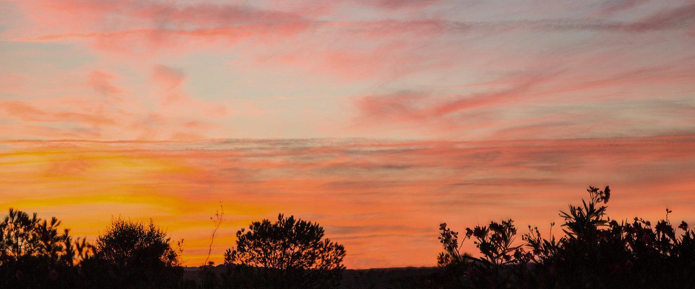 Puesta de sol en Matalascañas