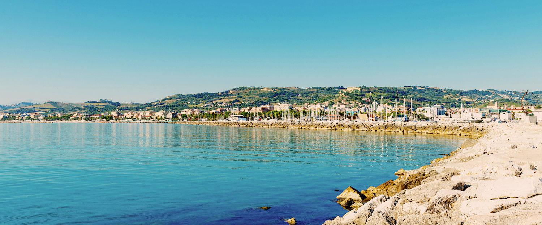 Costa di San Bendetto del Tronto.