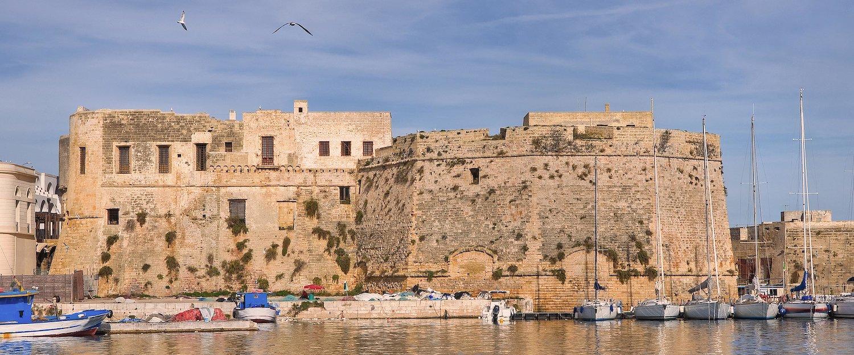 Castello di Gallipoli.