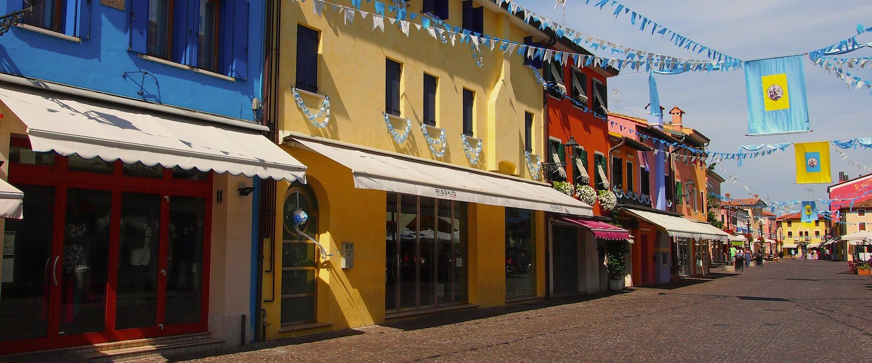 Die Altstadt von Caorle