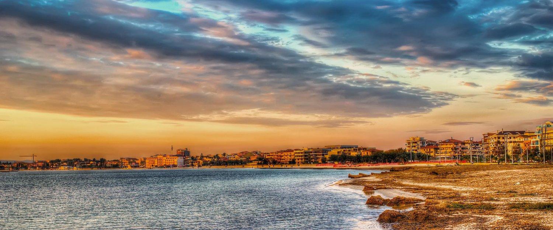 I colori del tramonto ad Alghero.
