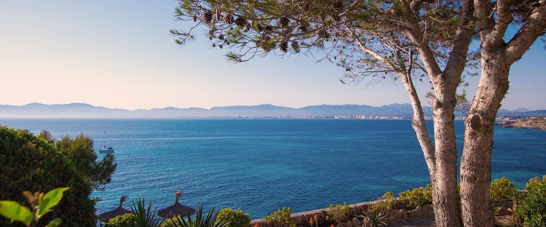 Der Ausblick über die Ostküste Mallorcas.