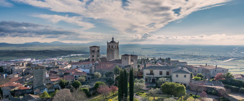 Vista panorámica de Trujillo