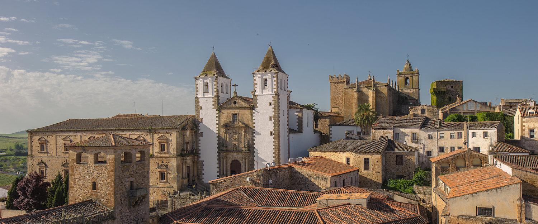 El casco antiguo de Cáceres