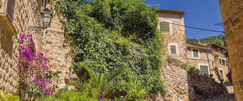 Alte Gasse auf Mallorca