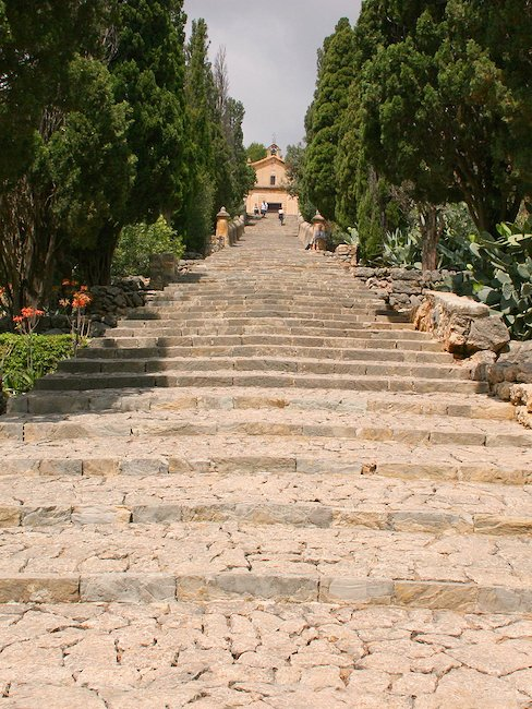 Les marches de Majorque