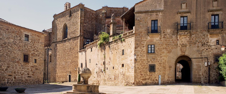 Plaza de San Nicolas en Plasencia