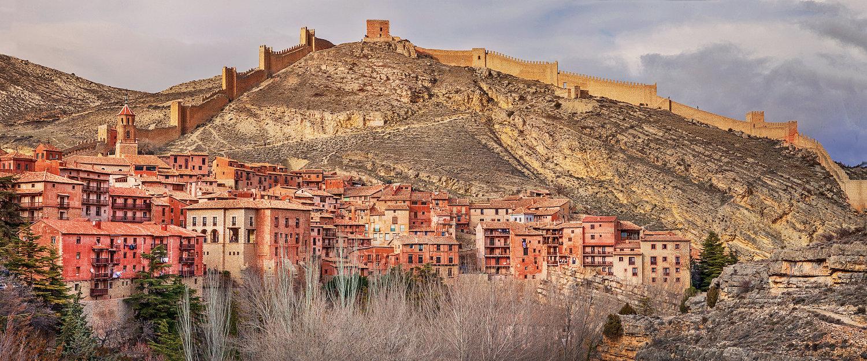 Vista de Albarracín en Aragón