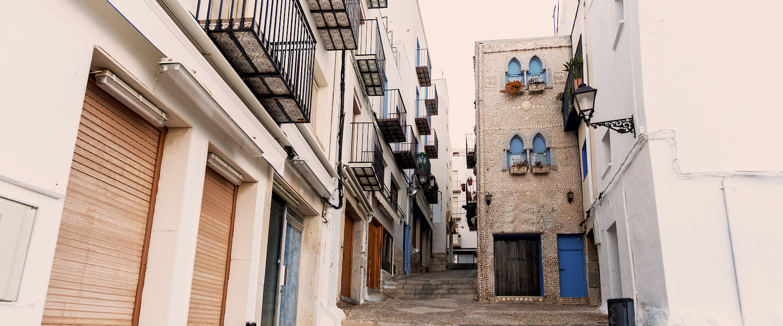 El casco antiguo de Peñiscola