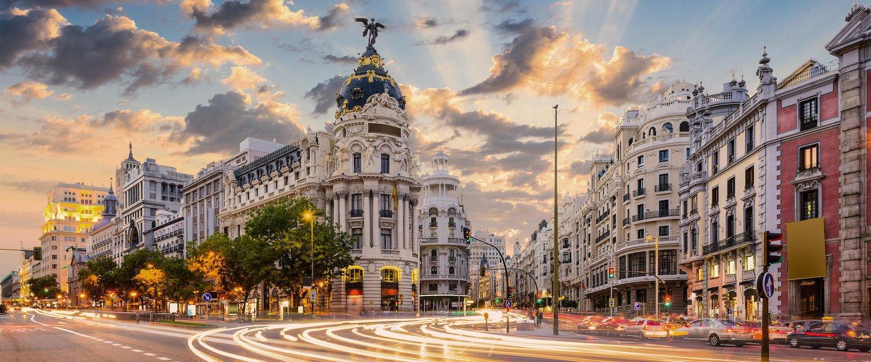 Gran Vía em Madrid