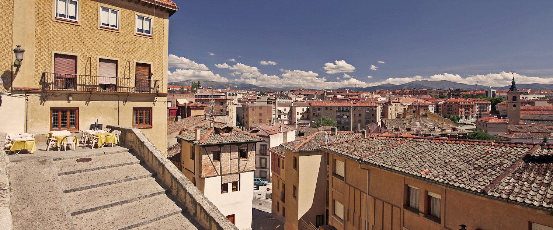 Vistas de la arquitectura típica