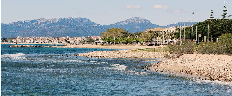 Naturaleza de Cambrils, mar, ciudad y monte
