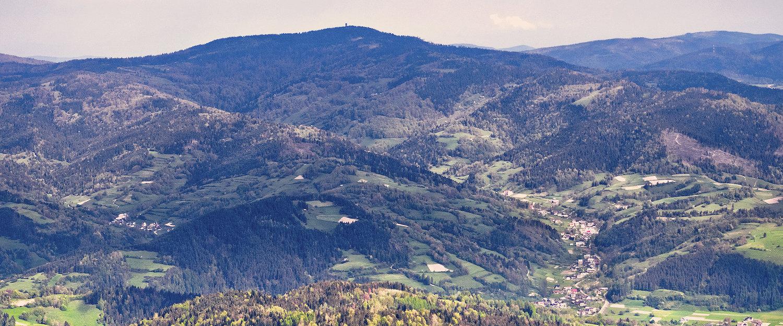 Górzyste krajobrazy Białki Tatrzańskiej