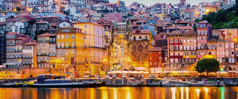 Cidade do Porto Vista de Vila Nova de Gaia