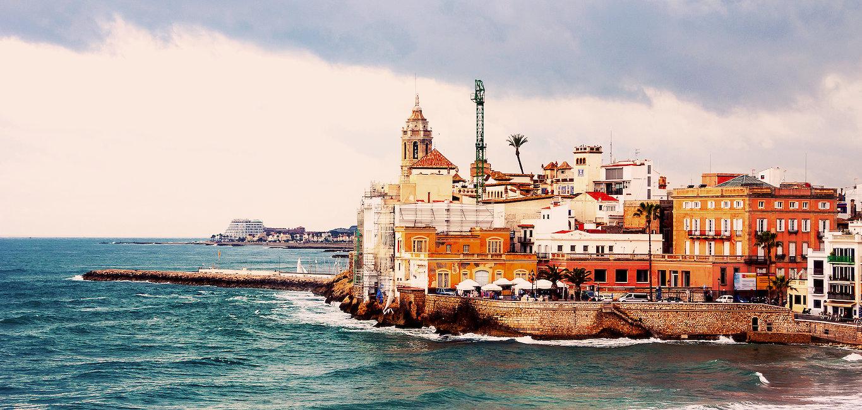 La costa de Sitges