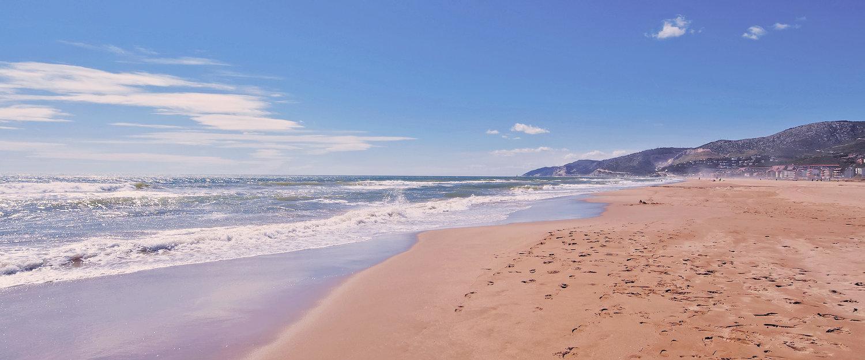 Playa en Casteldefels