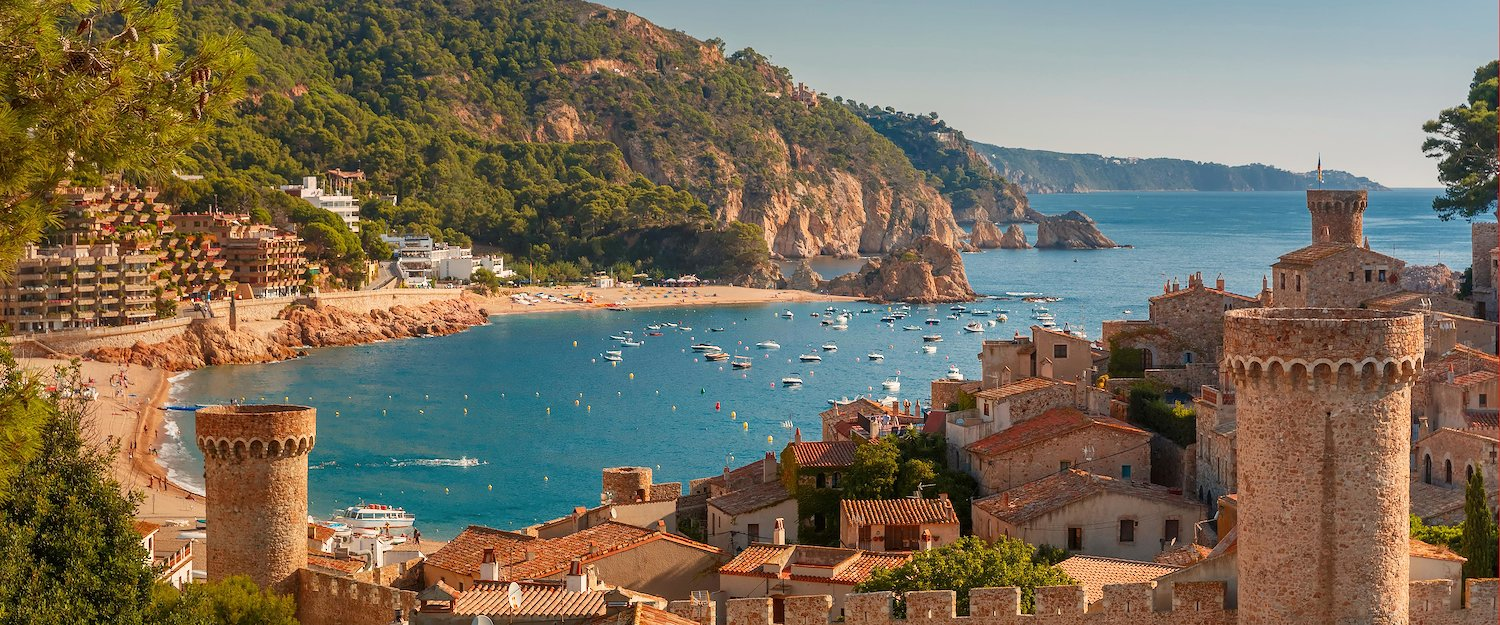 Relax on the beach of Costa Brava