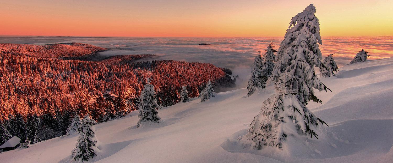 Wintersport in Traumlandschaft