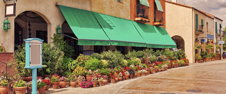 Calle de tiendas de Sabadell